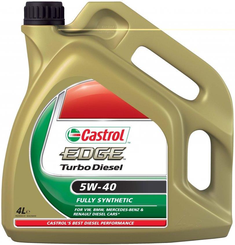 castrol edge fst 5w40 turbo diesel litri 6 olio motore vw