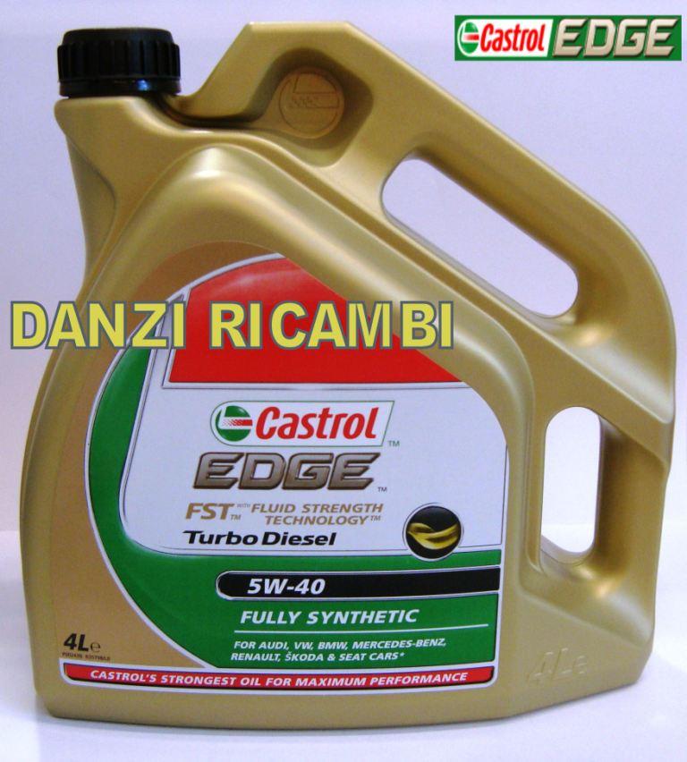 castrol edge fst 5w40 turbo diesel litri 6 olio motore vw. Black Bedroom Furniture Sets. Home Design Ideas