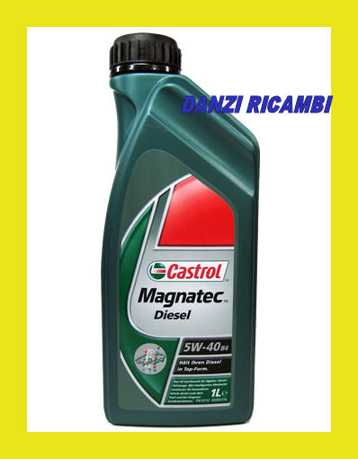 castrol magnatec diesel 5w40 b4 olio motore sintetetico ebay. Black Bedroom Furniture Sets. Home Design Ideas