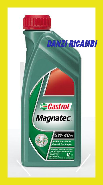 castrol magnatec benzina 5w40 c3 olio motore sintetico ebay. Black Bedroom Furniture Sets. Home Design Ideas